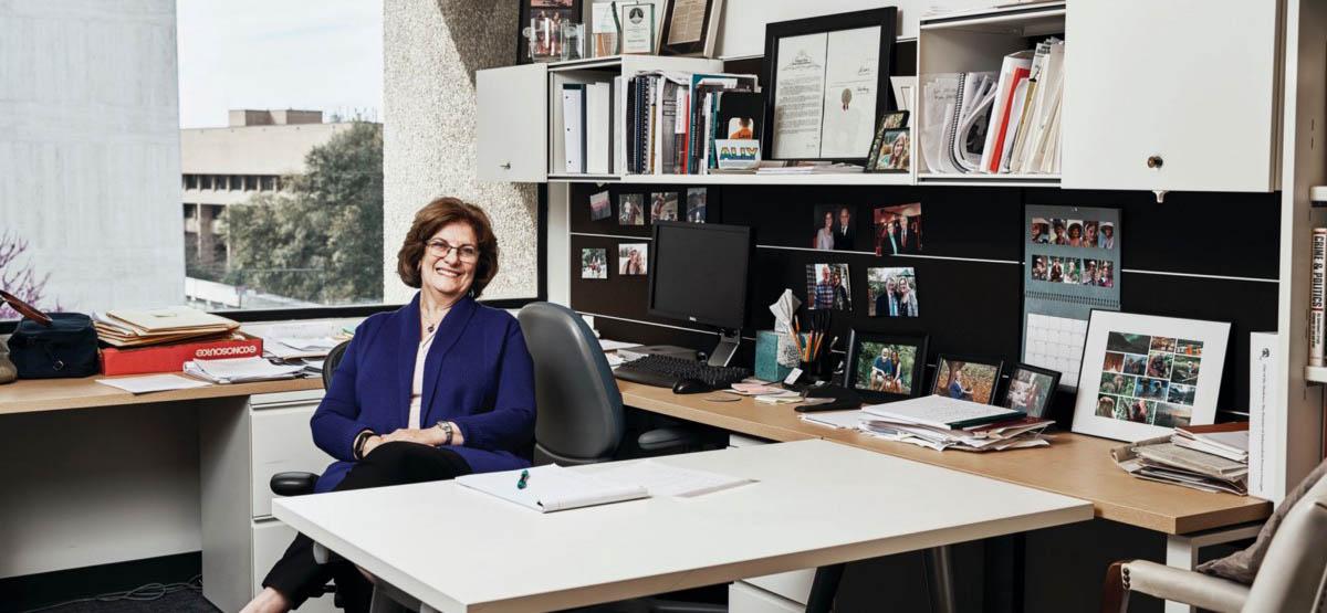 LBJ Senior Lecturer Michele Deitch in her office