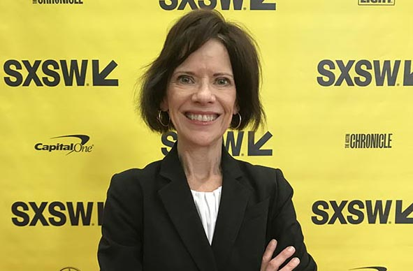 LBJ School Professor Jacqui Angel spoke on a 2018 SXSW panel on city solutions to aging