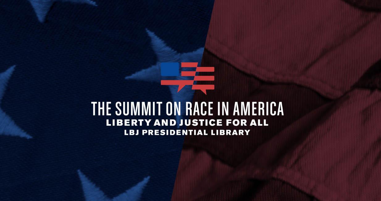 LBJ Foundation Summit on Race in America logo