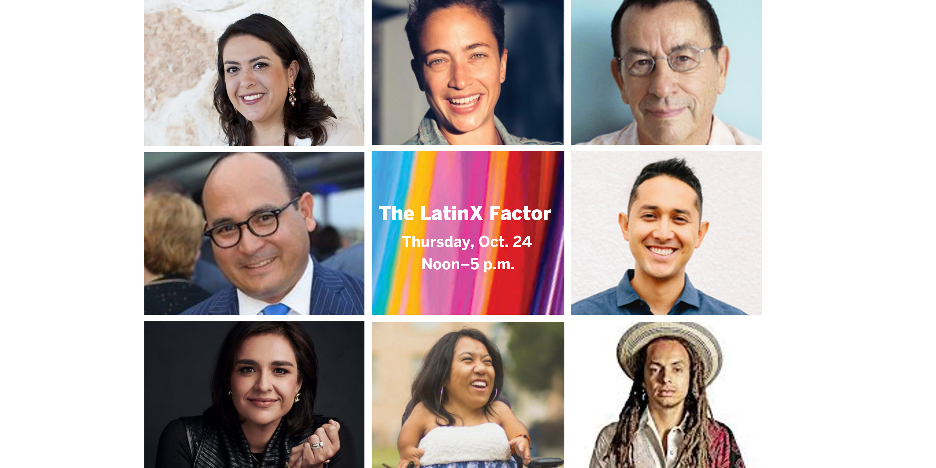 Participants in the LatinX Factor conference