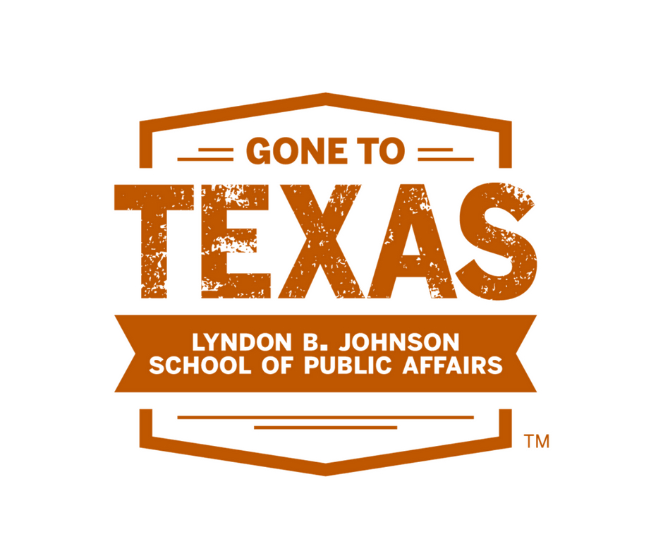 burnt orange logo with all capitalized orange and white text
