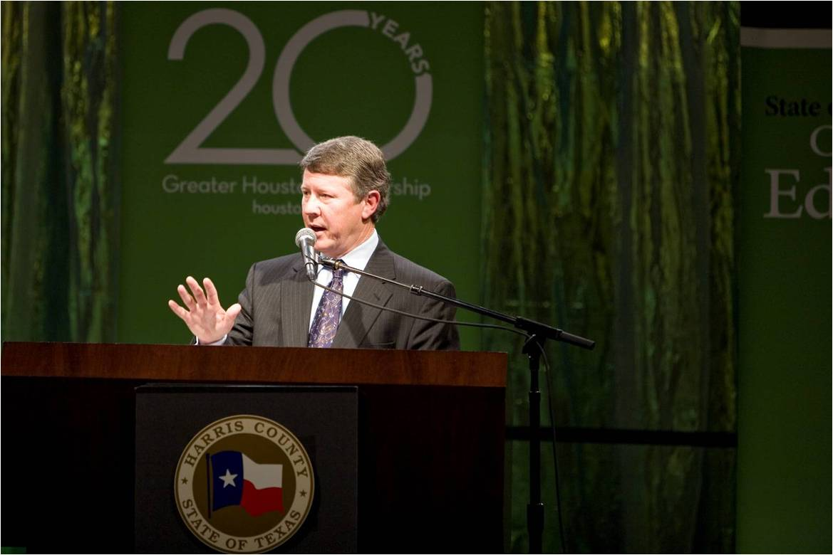 County Harris Judge, LBJ School Alum, and 2009 Distinguished Public Service Award Recipient Edward M. Emmett