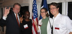 Photo of alumni at Washington DC reception