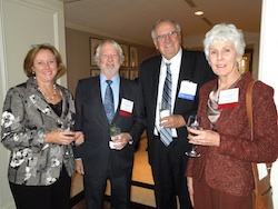 Photo of Alumni at Reception in Houston