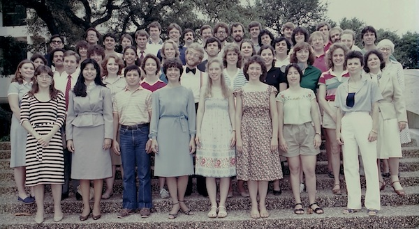 Photo of the Class of 1982