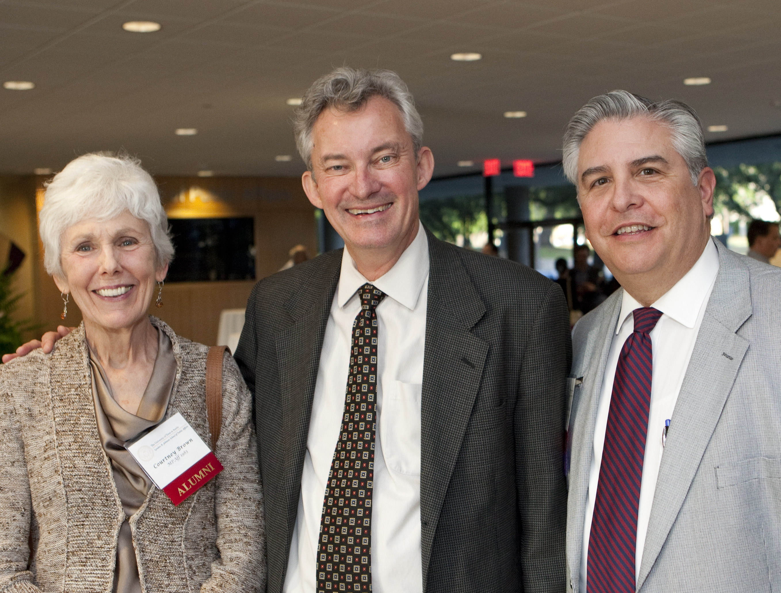 Photo of LBJ School distinguished public service awardees