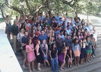 Photo of LBJ School class of 2012