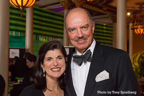 Luci Baines Johnson and Ian Turpin