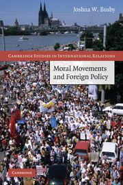 Moral Movements and Foreign Policy book cover