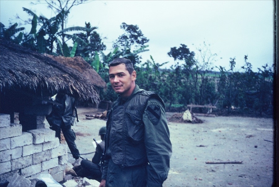 Howard Prince as a company commander in February 1968 near Hue during TET.