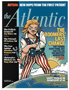 October 2010 Cover of the Atlantic