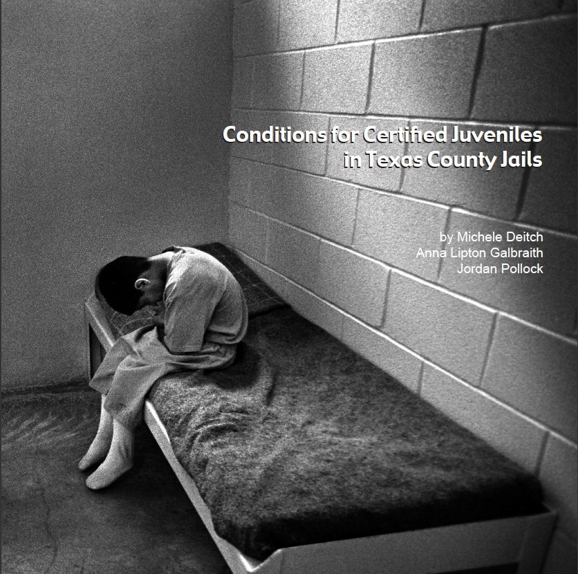 Conditions for Certified Juveniles in Texas County Jails report