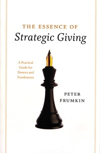 The Essence of Strategic Giving book cover