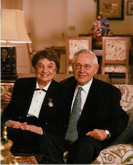 Ronya and George Kozmetsky