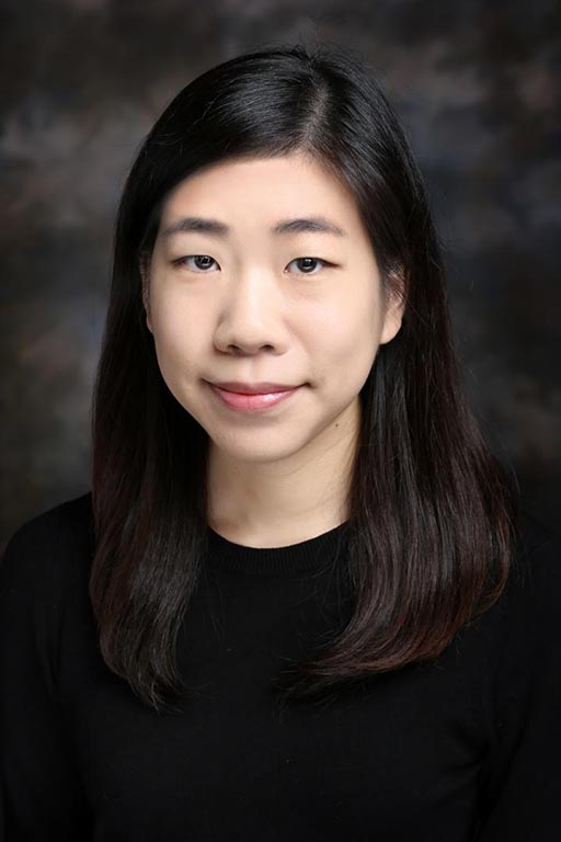 Ph.D. student Eun Young Kim