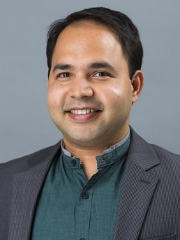LBJ School faculty member Varun Rai