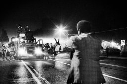 BLM emerged from the Ferguson uprising in 2014, combining street protest with modern-day social media activism. Credit: Philip Montgomery
