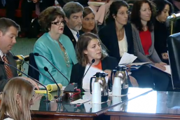 Hennessy testifies before the senate committee.