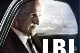 LBJ movie poster with Woody Harrelson