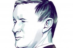 Illustration of Adm. William McRaven by the New York Times' Jillian Tamaki