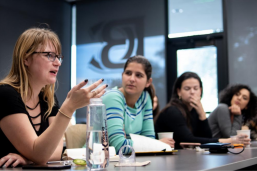 RGK students discuss nonprofit consulting
