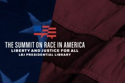 LBJ Foundation Summit on Race in America logo
