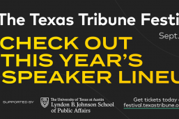 LBJ School is a 2020 Texas Tribune Festival sponsor.