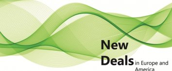 Event graphic: New Deals in Europe and America