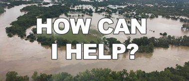 Flood waters in LaGrange, Texas: How You Can Help
