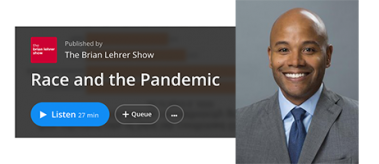 LBJ's Peniel Joseph discusses race and the COVID-19 pandemic on WNYC's Brian Lehrer Show