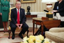 President Trump in the Oval Office on Wednesday. Credit Doug Mills/The New York Times