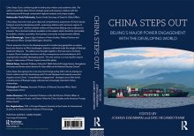 Book jacket of Eisenman's book, CHINA STEPS OUT