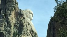 President George Washington at Mount Rushmore. Atlanta Journal-Constitution