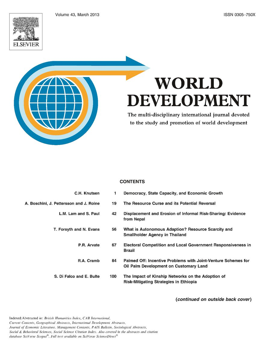 World development cover